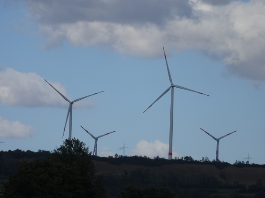 Windkraft ersetzt Kohle als Stromerzeuger © Paul Bock