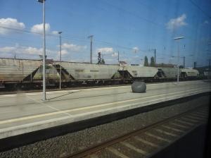 Gleisanlage mit Bahnsteig © Paul Bock
