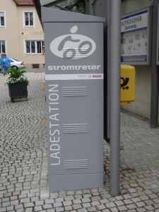 Ladestation für E-Bikes © Paul Bock