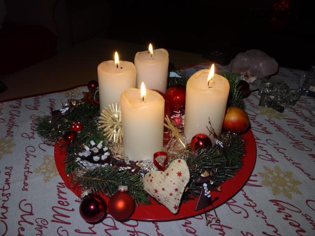 Weihnachtskranz copyright Paul Bock