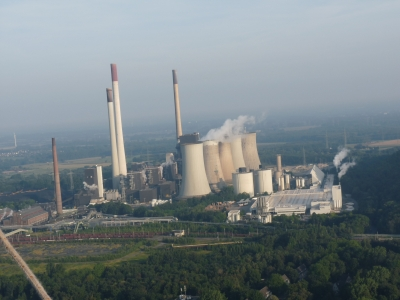 Kohlekraftwerk der Industrie copyrigth Dieter Schütz - pixelio.de